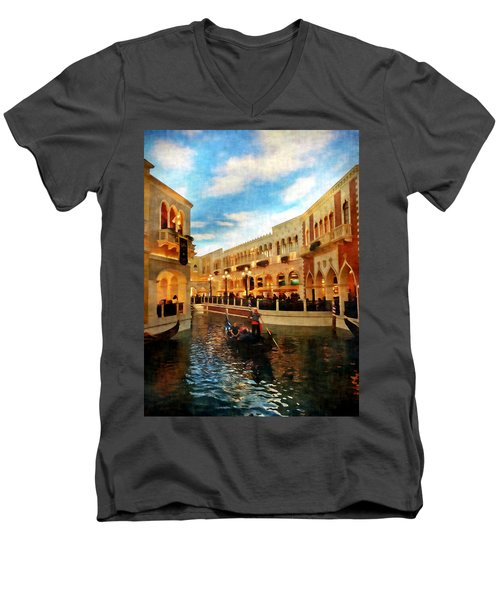 The Gondolier Men's V-Neck T-Shirt