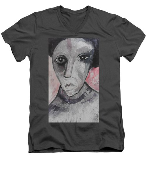 The Gothic Poet Men's V-Neck T-Shirt