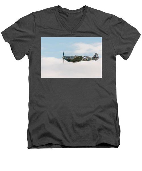 The Grace Spitfire Men's V-Neck T-Shirt