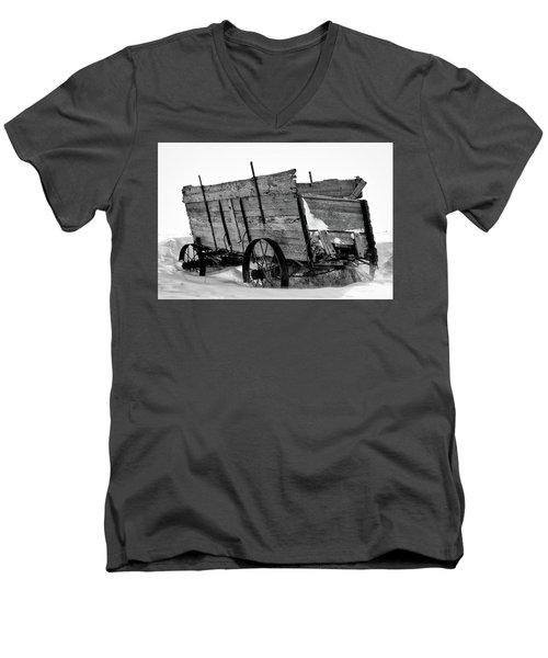 The Grain Wagon Men's V-Neck T-Shirt