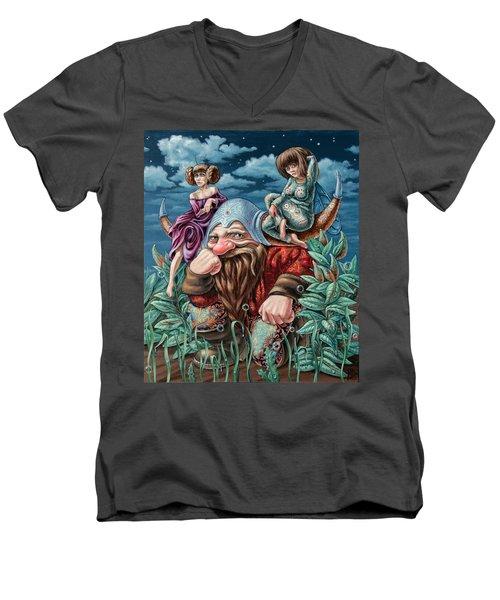 The Great Horns Men's V-Neck T-Shirt