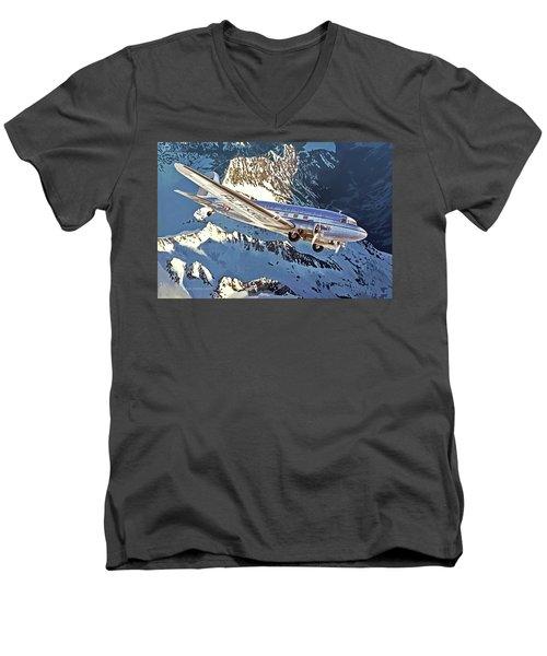 The Great Land Men's V-Neck T-Shirt