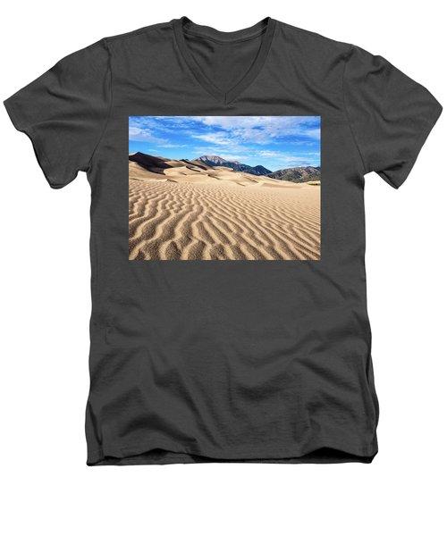 The Great Sand Dunes Of Colorado Men's V-Neck T-Shirt