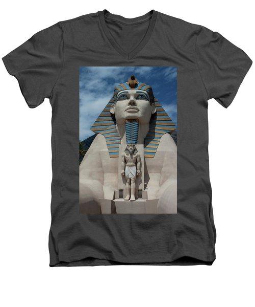 The Great Sphinx Men's V-Neck T-Shirt