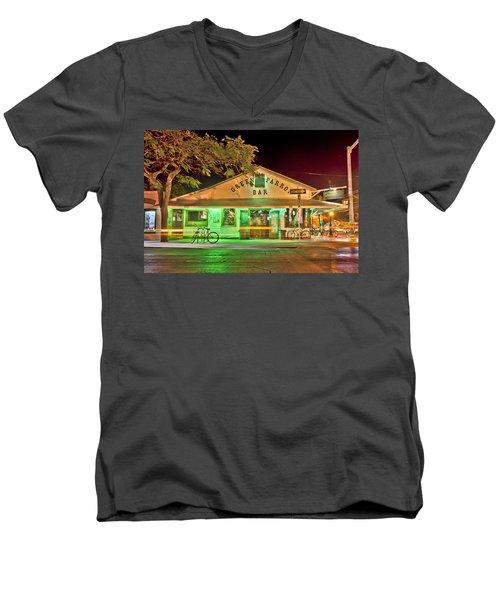 The Greeen Parrot Men's V-Neck T-Shirt