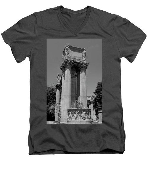 The Greek Architecture Men's V-Neck T-Shirt