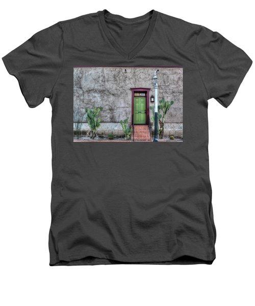 The Green Door Men's V-Neck T-Shirt