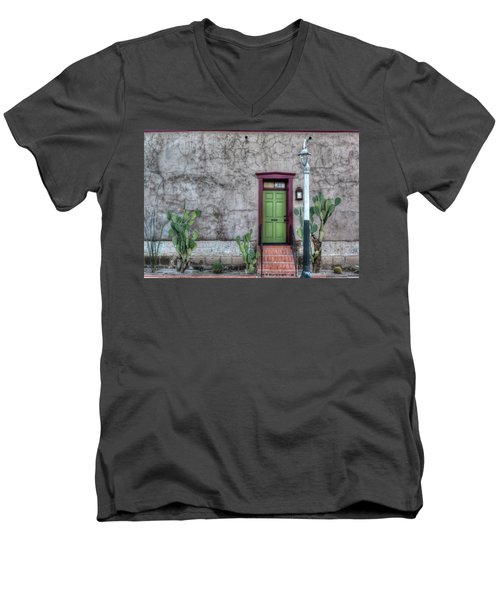 The Green Door Men's V-Neck T-Shirt