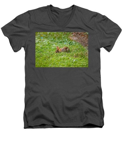 The Greener Grass Men's V-Neck T-Shirt