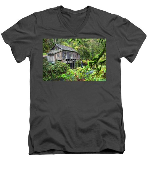 The Grist Mill, Amboy Washington Men's V-Neck T-Shirt