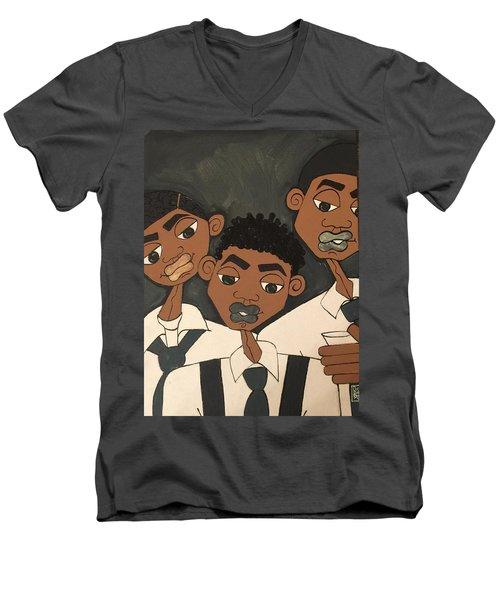 The Groomsmen Men's V-Neck T-Shirt