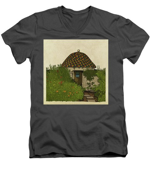 The Guard House Men's V-Neck T-Shirt