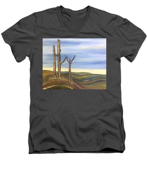 The Guardians Men's V-Neck T-Shirt by Pat Purdy