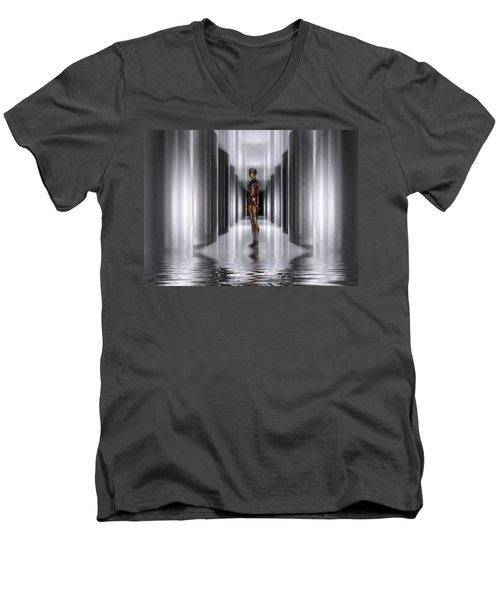 The Guide Men's V-Neck T-Shirt