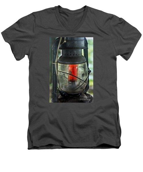 The Guiding Light Men's V-Neck T-Shirt