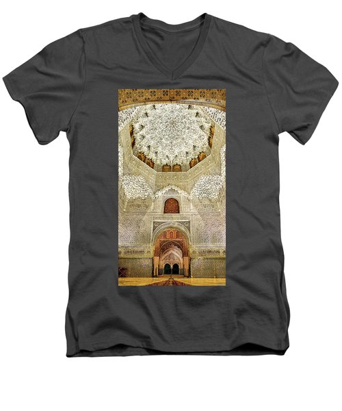 The Hall Of The Arabian Nights 2 Men's V-Neck T-Shirt