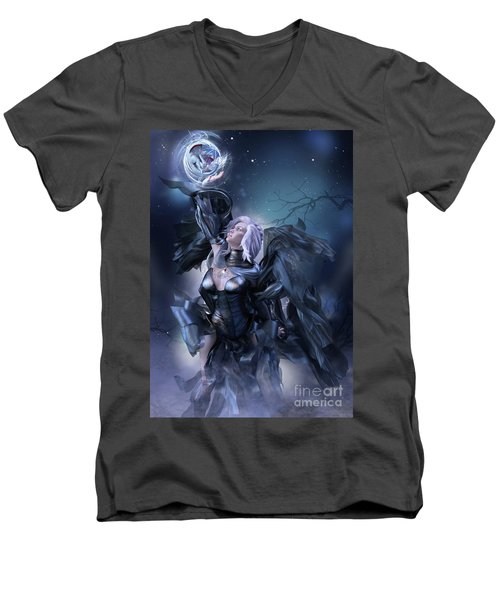 The Hatching Men's V-Neck T-Shirt