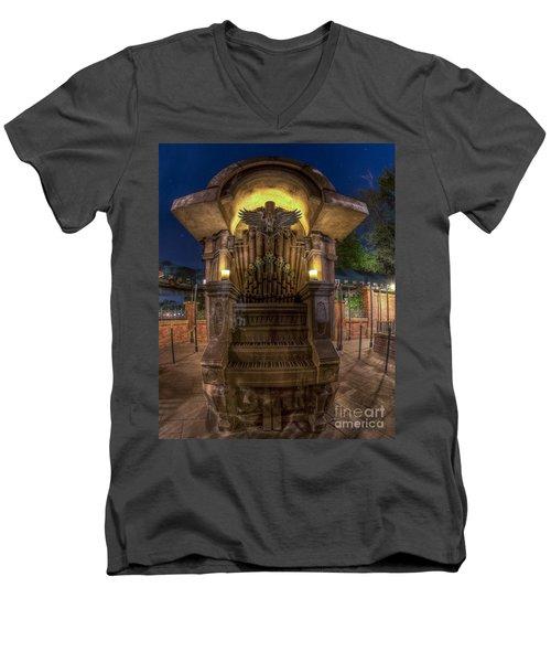 The Haunted Organ Men's V-Neck T-Shirt