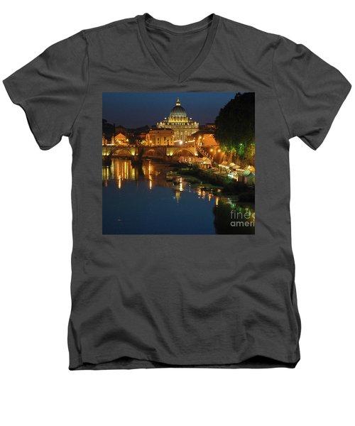 Eternal Sound Of Rome Men's V-Neck T-Shirt