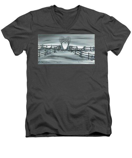 The Heart Of Everything Men's V-Neck T-Shirt
