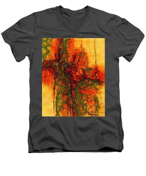 The Heart Of The Matter Men's V-Neck T-Shirt