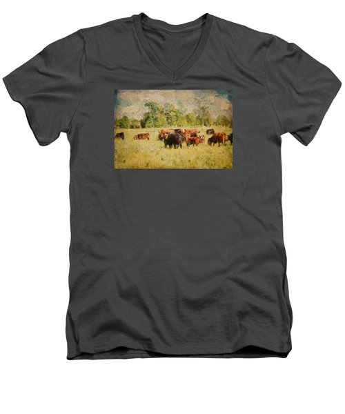 The Herd Men's V-Neck T-Shirt
