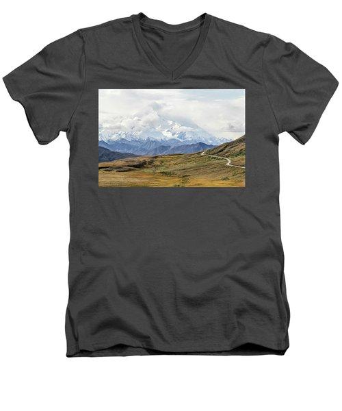 The High One - Denali Men's V-Neck T-Shirt