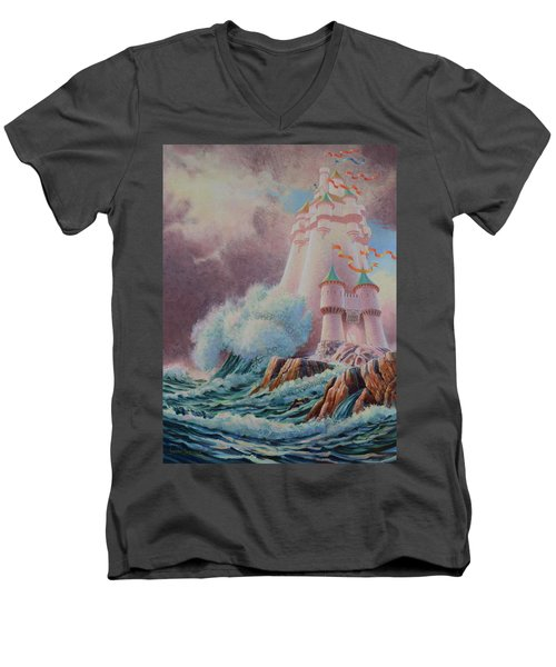 The High Tower Men's V-Neck T-Shirt