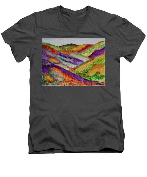 The Hills Are Alive Men's V-Neck T-Shirt