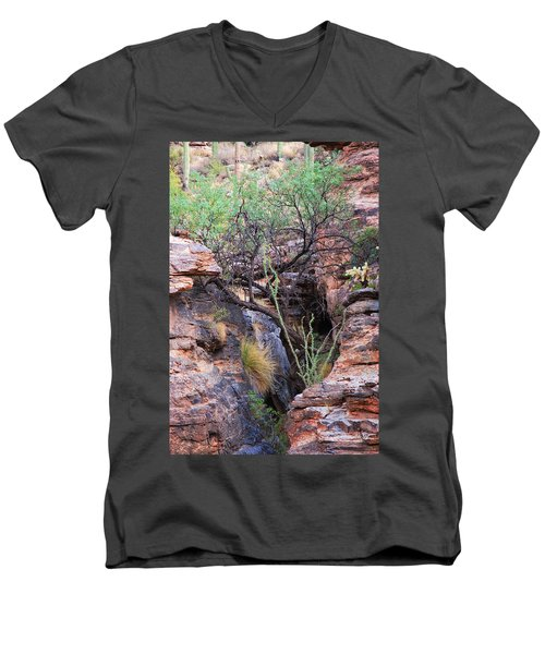 The Hole - Mount Lemmon Men's V-Neck T-Shirt
