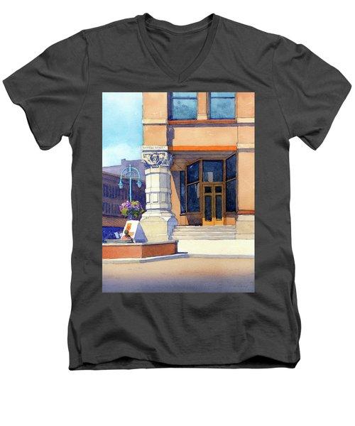 The Hudson Men's V-Neck T-Shirt