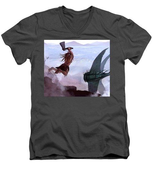 The Hunt Men's V-Neck T-Shirt