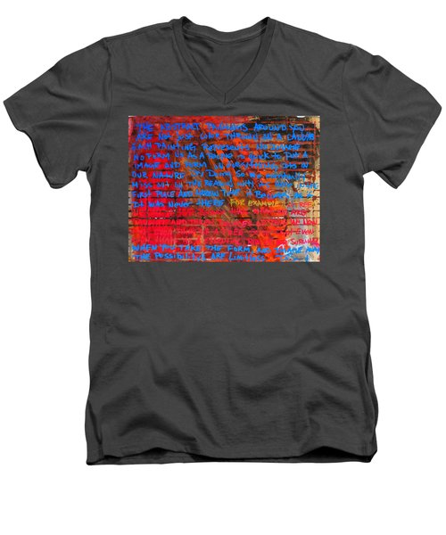 The Idea 2 Men's V-Neck T-Shirt