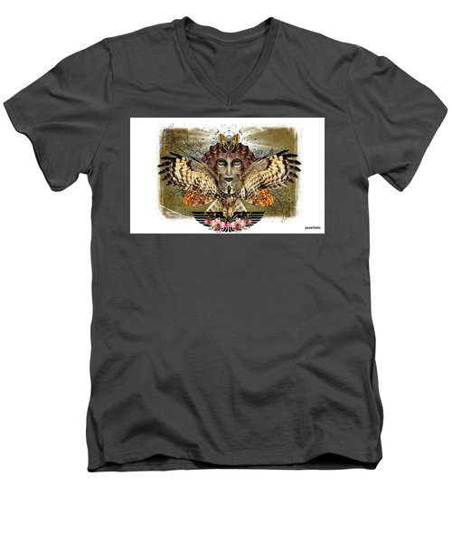 The Illusion Was Exposed Men's V-Neck T-Shirt
