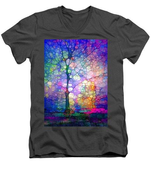 The Imagination Of Trees Men's V-Neck T-Shirt