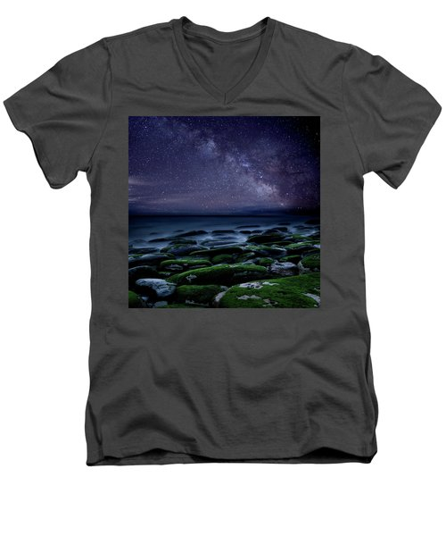 The Immensity Of Time Men's V-Neck T-Shirt