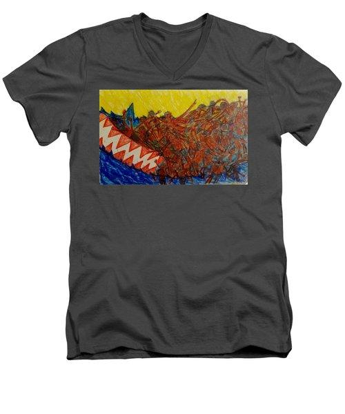 The Immigrant Journey Last Men's V-Neck T-Shirt