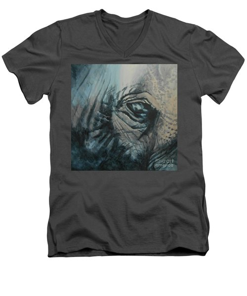 The Incredible - Elephant Men's V-Neck T-Shirt