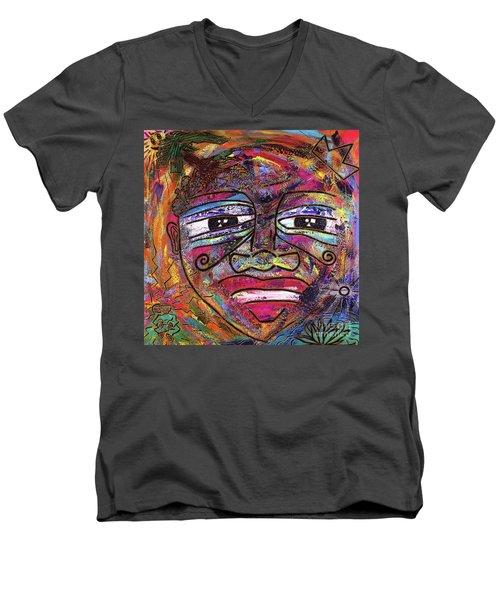 The Indigo Child Men's V-Neck T-Shirt