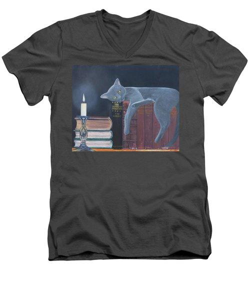 The Island Of Enchantment Men's V-Neck T-Shirt