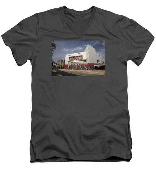 The Joe Wide Shot  Men's V-Neck T-Shirt by John McGraw
