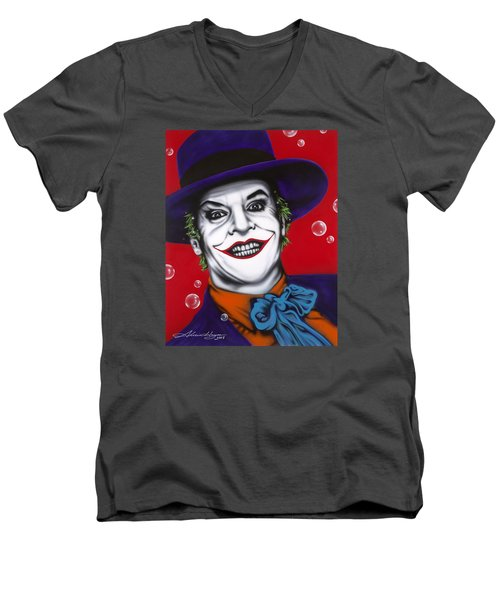 The Joker Men's V-Neck T-Shirt