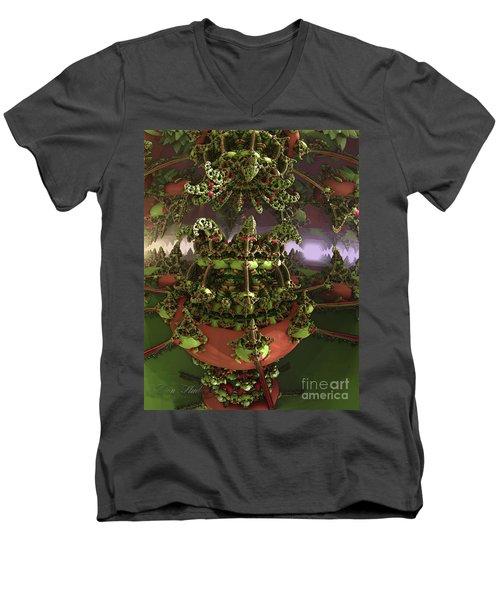 The Jokers Machine Men's V-Neck T-Shirt by Melissa Messick