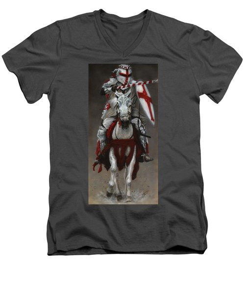 The Joust Men's V-Neck T-Shirt