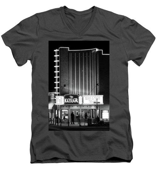 The Kessler V2 091516 Bw Men's V-Neck T-Shirt