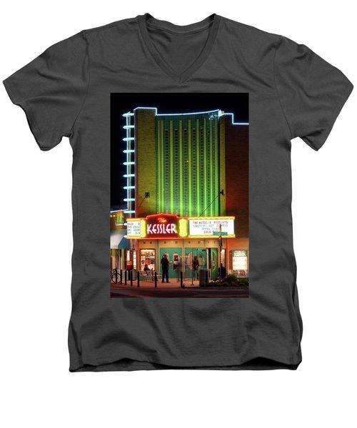 The Kessler V2 091516 Men's V-Neck T-Shirt