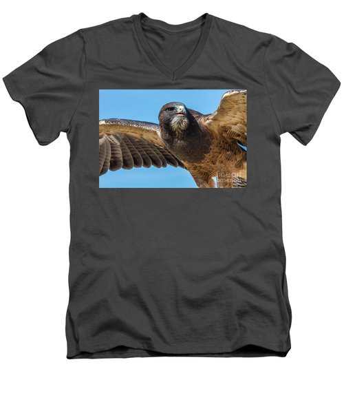 The Kill Wildlife Art By Kaylyn Franks Men's V-Neck T-Shirt