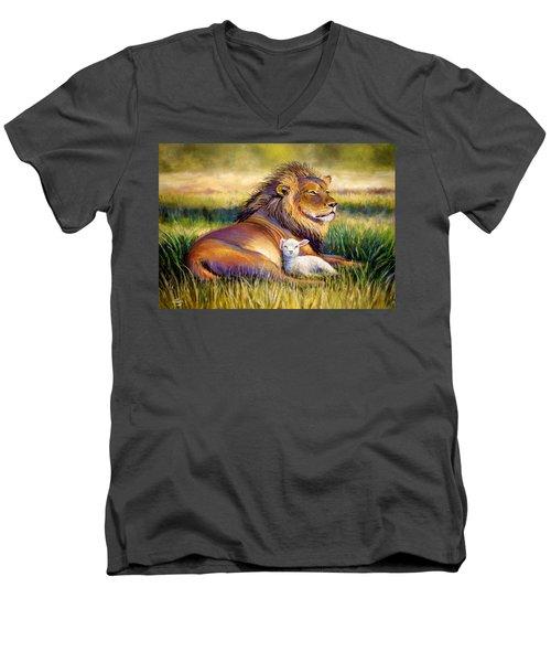 The Kingdom Of Heaven Men's V-Neck T-Shirt