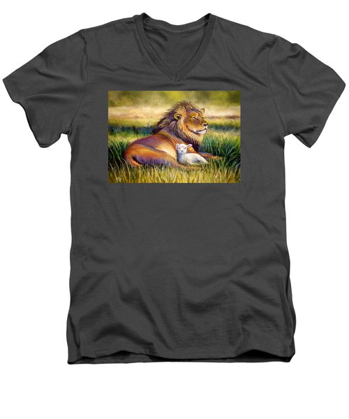 The Kingdom Of Heaven Men's V-Neck T-Shirt