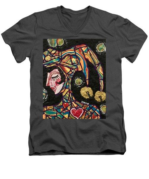 The King's Fool Men's V-Neck T-Shirt